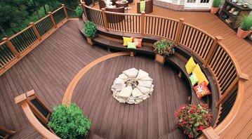 deck staining fairfiel ct