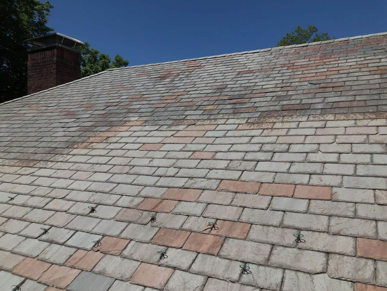 roof, cleaning, in, fairfield, county, ct
