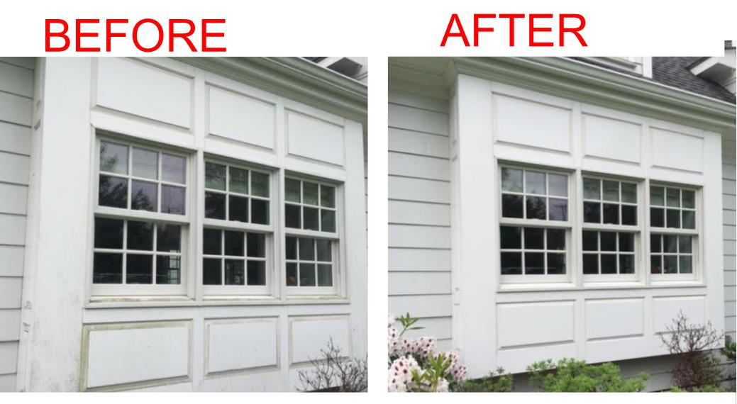 Stamford CT Power Washing - Before & After