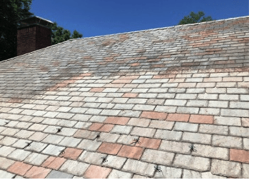 Roof cleaning Fairfield CT