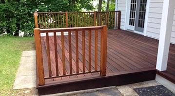Wood Deck Repair Fairfield CT
